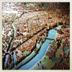 Maquette de la ville de Toulouse, les Archives