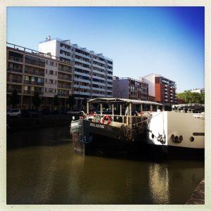 canal du midi toulouse port saint sauveur