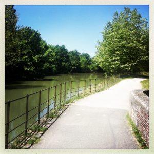 pont-canal de Rieumory canal du midi maury