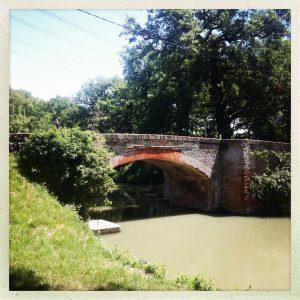 pont de baziège 1841 canal du midi