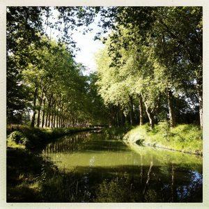 vers ramonville canal du midi