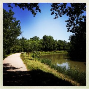 chemin Gardouch canal du midi