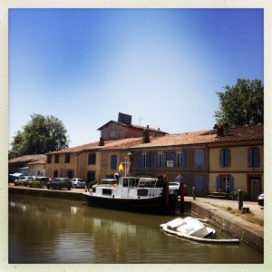 port Gardouch canal du midi