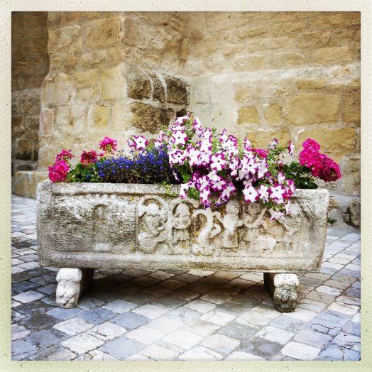 sarcophage paléochrétien à Avignonet lauragais