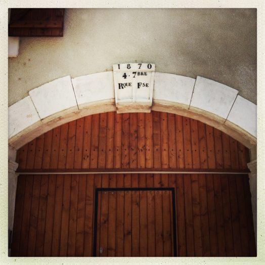 la redorte un porche de maison 4 septembre 1870 proclamation de la République française