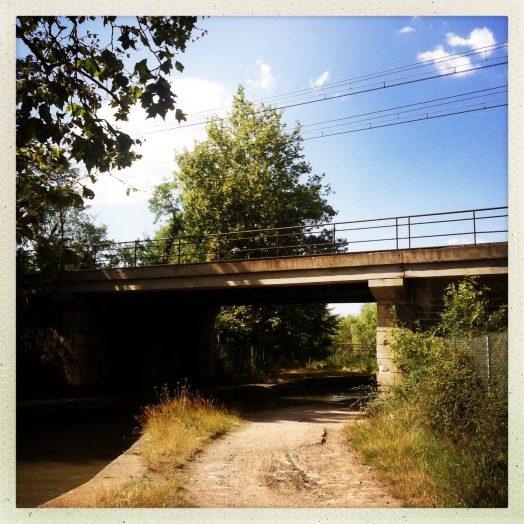 pont rail structure ancienne vias