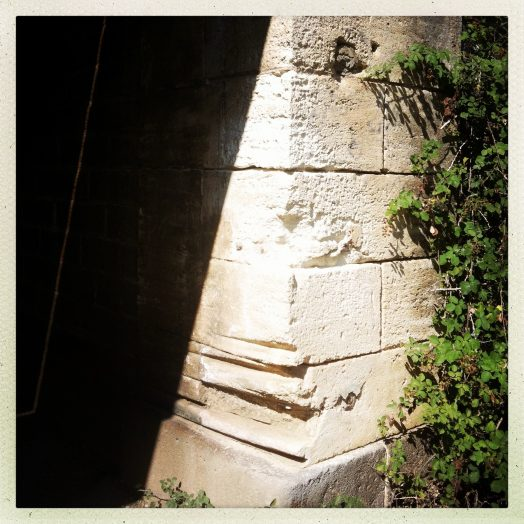 trace de cordages pont rail structure ancienne vias