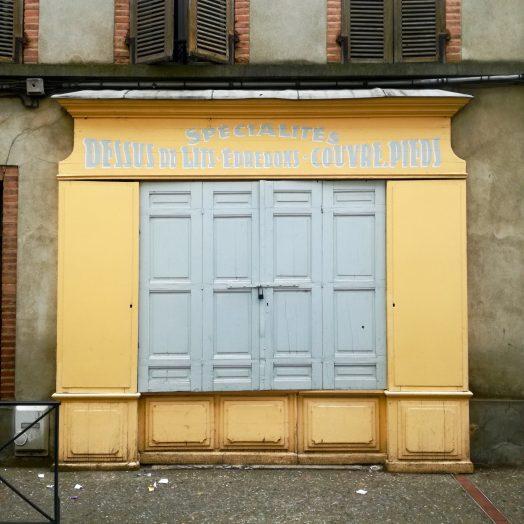 façade magasin ancien à montauban