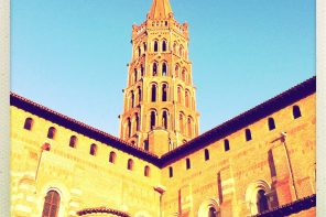Roman photo : la basilique Saint Sernin de Toulouse