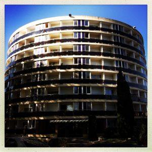Toulouse voie verte canal du midi immeuble La Pléiade André Soussan