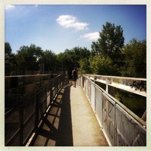 passerelle ramonville canal du midi