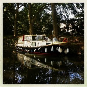 péniche habitation vers ramonville canal du midi