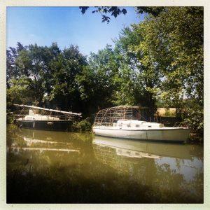 canal du midi bateaux