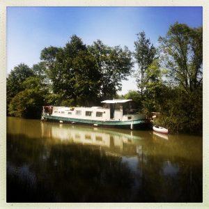 péniche habitation ramonville canal du midi
