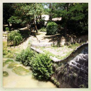 Piscine des Voûtes Gardouch canal du midi à pied
