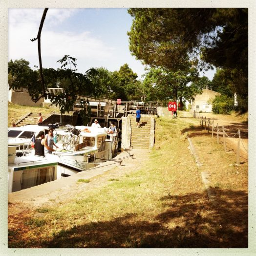 bassin écluse fonfile canal du midi