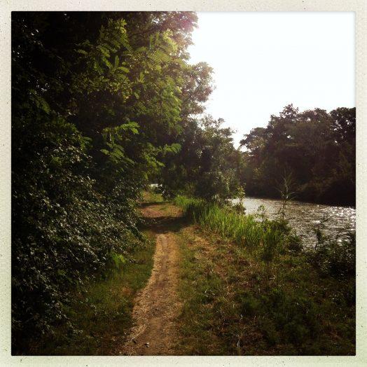 chemin de halage canal du midi marseillette