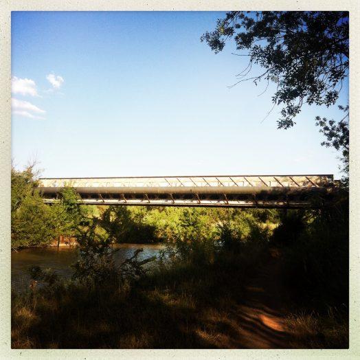 pont passerelle moderne