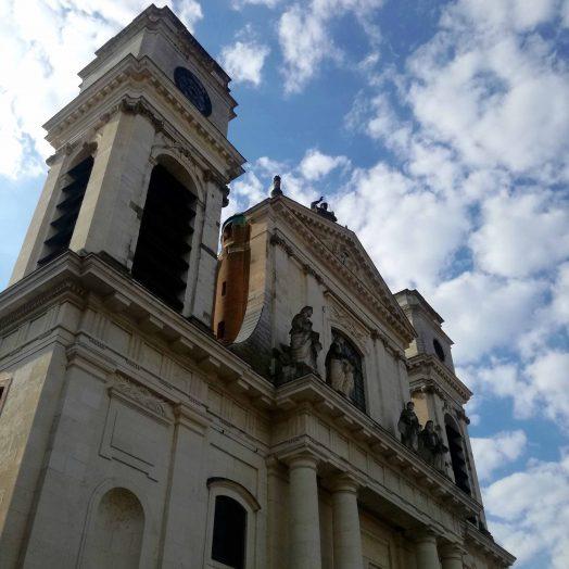 façade de la cathédrale Notre-Dame-de-l'Assomption de Montauban