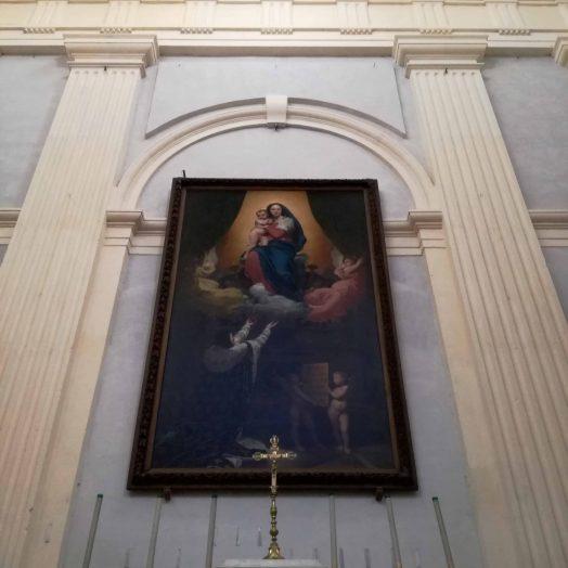 Bras gauche du transept Le vœu de Louis XIII peinte par Ingres pour la Cathédrale Notre-Dame-de-l'Assomption de Montauban