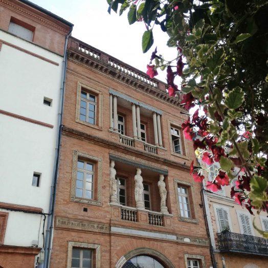 maison dite des caryatides à Montauban